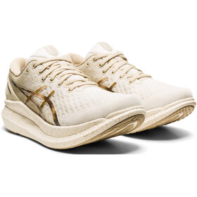 asics Glide Ride 2 Shoes Women, cream/putty